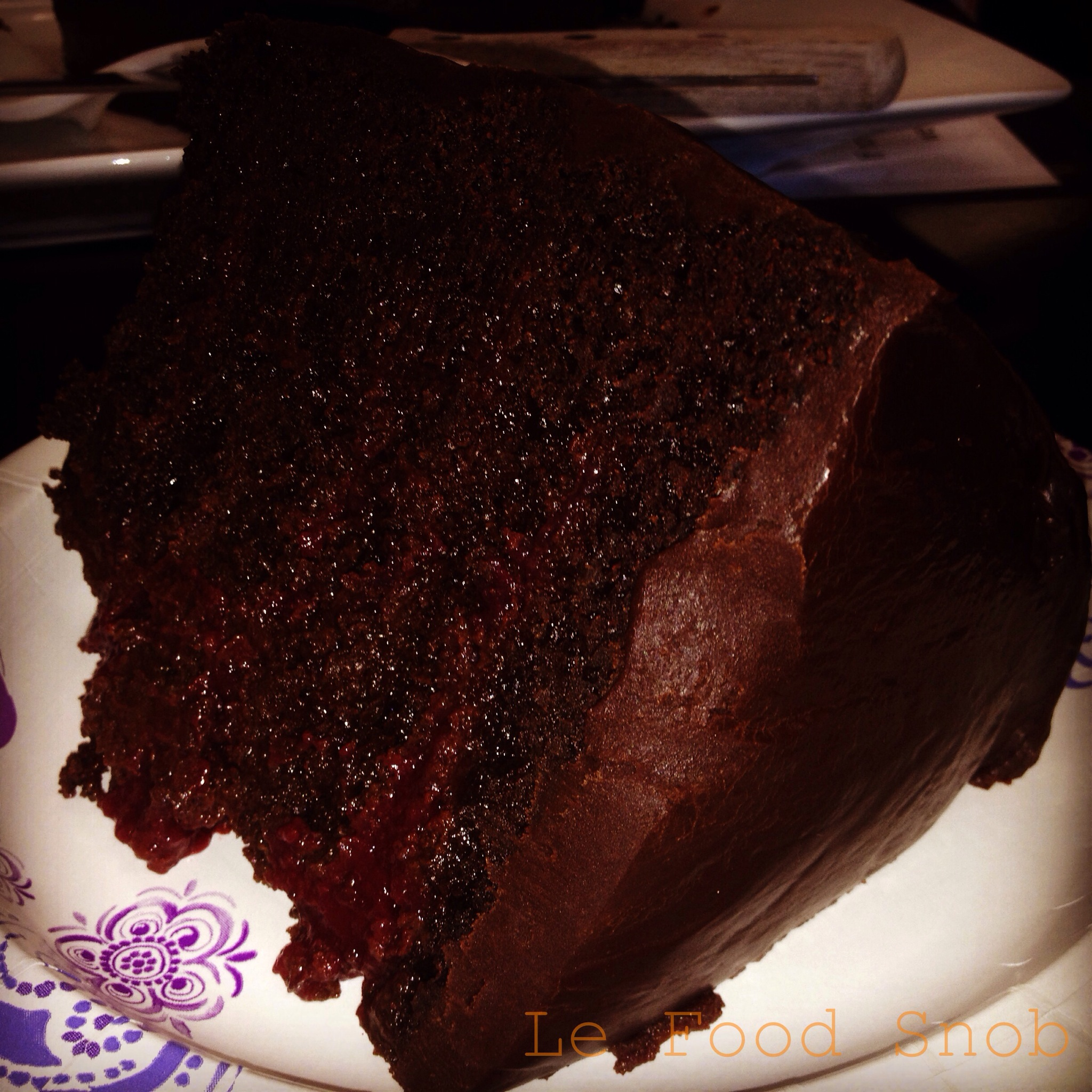 Picky Cook Chocolate Raspberry Cake
