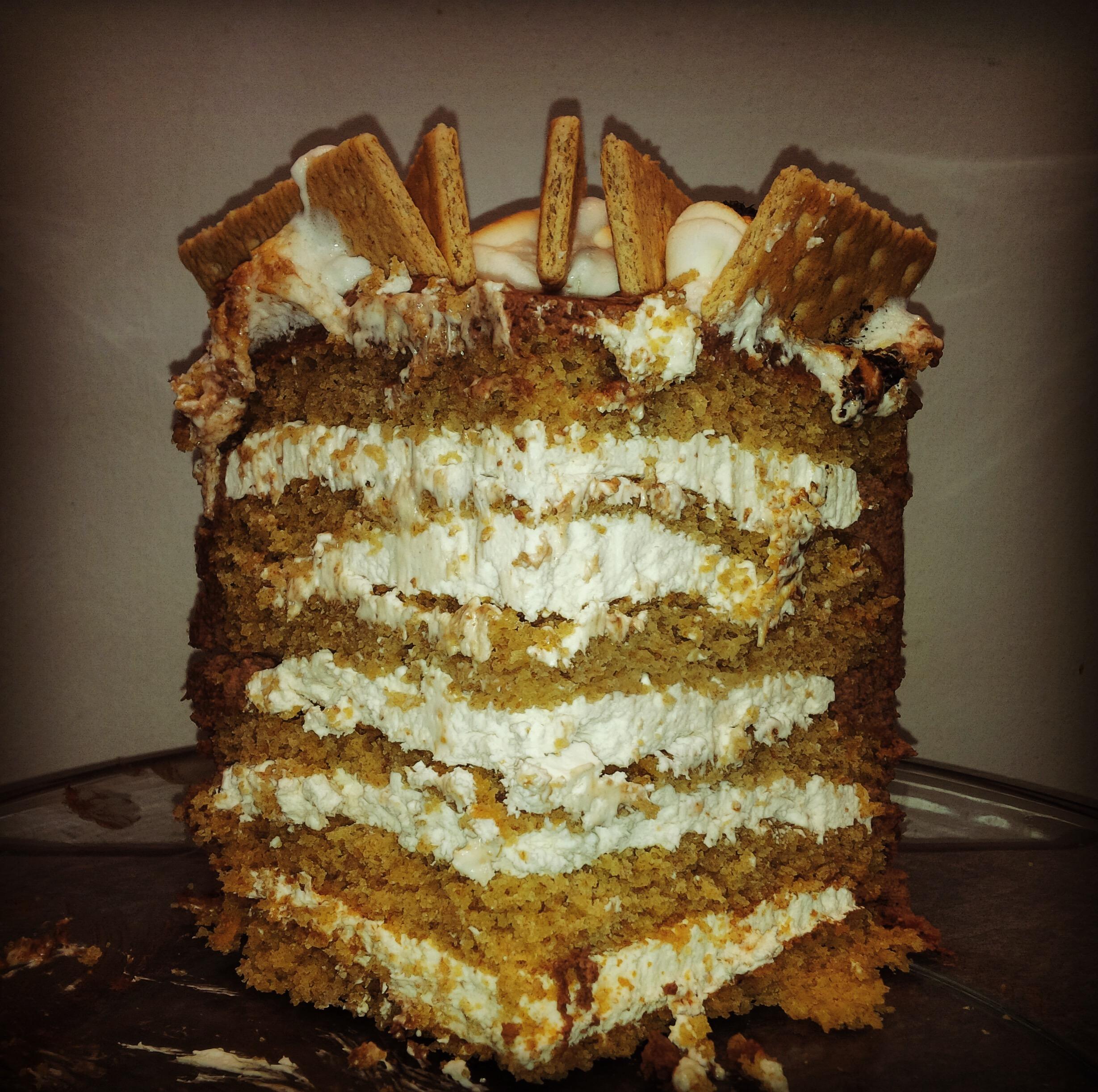 Smores Birthday Cake Le Food Snob
